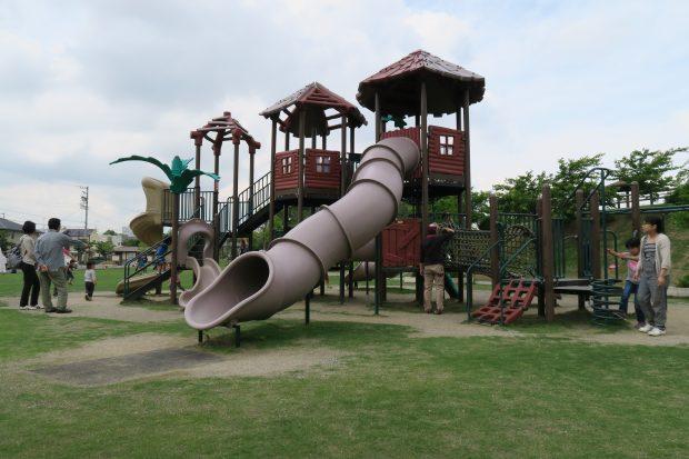 菊川市の舟岡山公園
