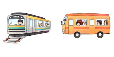 なごみ整体院 電車・バスで来られる方へ